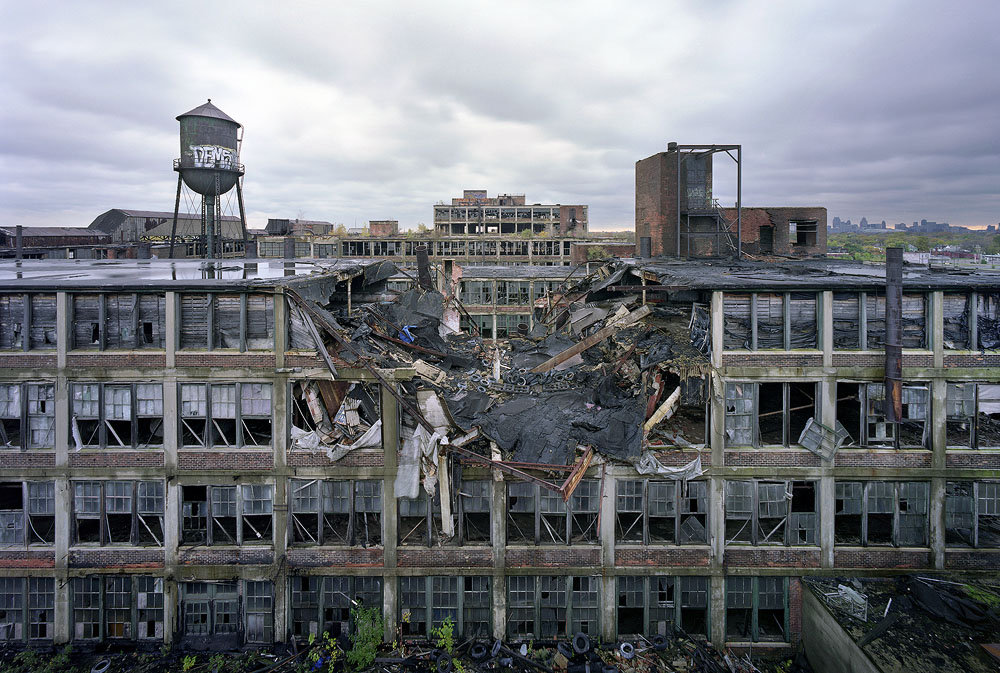 The Ruins Of Detroit By Romain Meffre Yves Marchand Exhibition Wilmotte Gallery