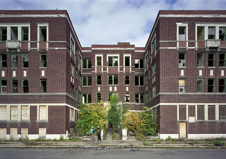 The Ruins Of Detroit By Romain Meffre Amp Yves Marchand
