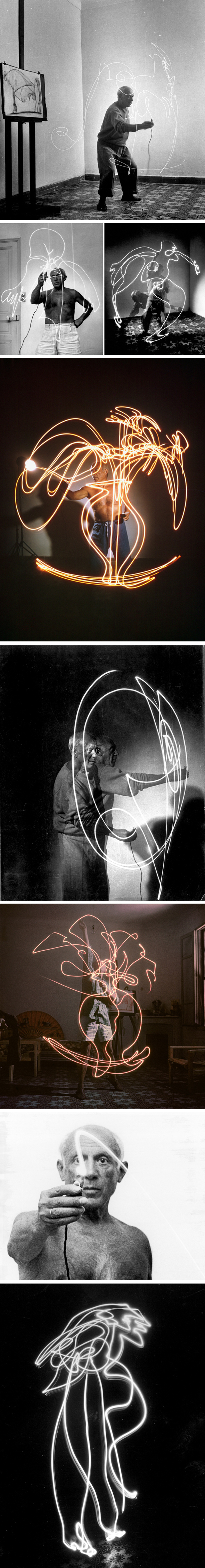 Light Drawings by Pablo Picasso