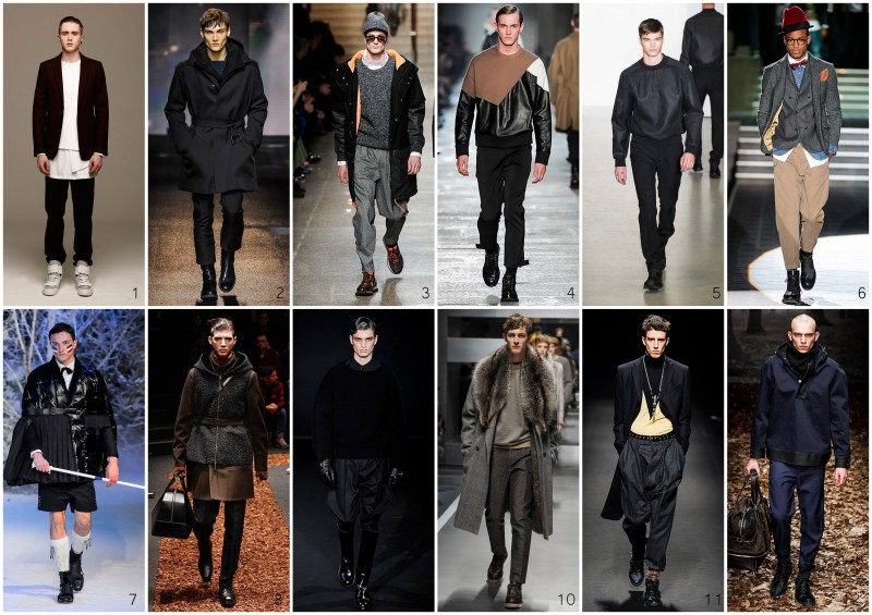 Top 12 menswear Milan fashion week FW 2013